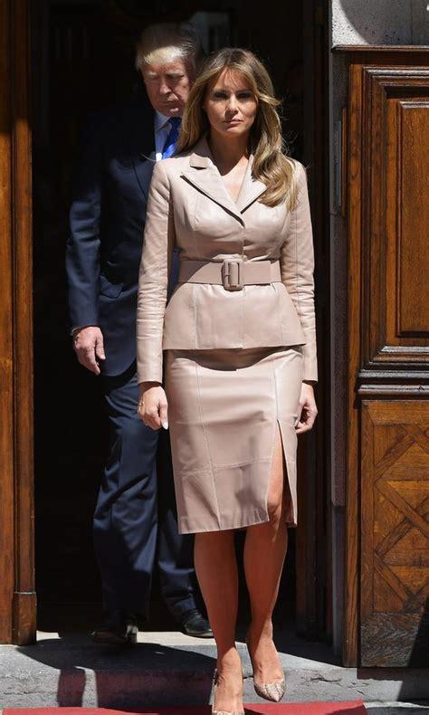 Melania Trump Wears $51,500 Dolce & Gabbana Coat | PEOPLE.com