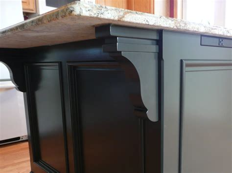 corbels for kitchen island how to build a kitchen island 5808