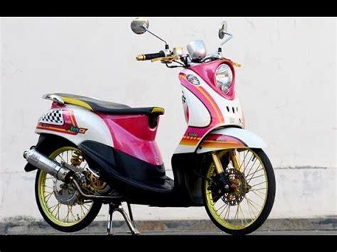 Modifikasi Motor Metik by Modifikasi Motor Matic Yamaha Fino Bagus Nan Keren