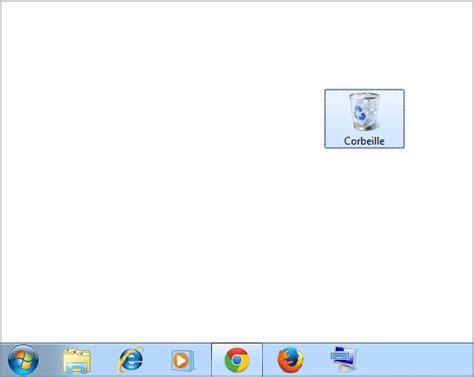 mettre icone sur bureau remettre corbeille sur bureau 28 images windows 10