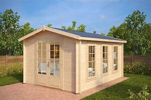 Gartenhaus 3 X 3 M : design gartenhaus aus holz eva b 12m 40mm 3x4 ~ Articles-book.com Haus und Dekorationen