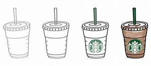 starbucks coffee illustrations on Behance
