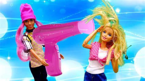 Cómo hacer una peluquería para Barbie Vídeos de Barbie en