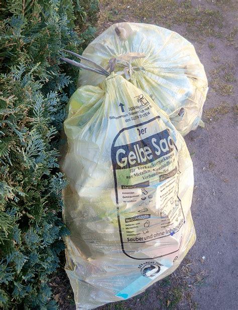 gelber sack bettwäsche zero waste tipps um m 252 ll im haushalt zu vermeiden die puddingschule