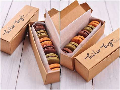 Packaging Design For My Homemade Macarons