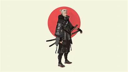 Samurai Katana Japan Fan Anime Ninja Characters