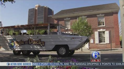 Duck Boat Tours In Philadelphia by Ride The Ducks Suspends Operations In Philadelphia 6abc