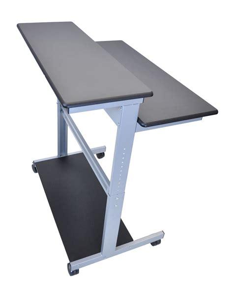 luxor stand up desk luxor desktop laptop tablet computing adjustable stand up