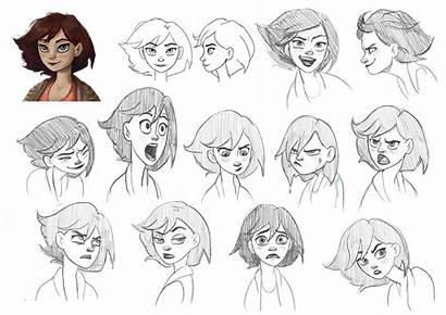 Facial Expressions Sketches Expression Face Drawing Cartoon