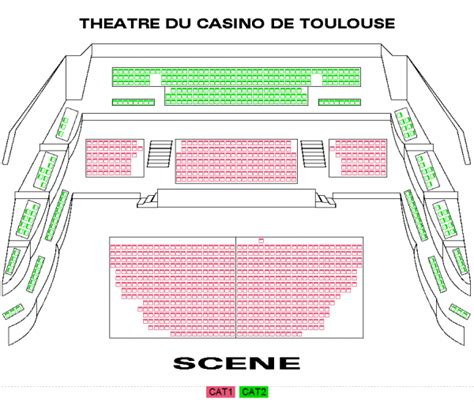 plan de salle casino de billets romeo juliet by rock the ballet casino barriere toulouse le 20 mars 2018