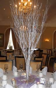 silver branch centerpiece floral design pinterest branches centerpieces and branch