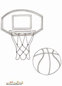 Pagné De Basket : coloriage panier basket sur t te modeler ~ Teatrodelosmanantiales.com Idées de Décoration