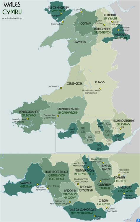 Which areas of Wales are in lockdown? Map of regions with ...