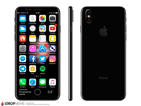 iphone 8 leak alleges display won t be edge to edge