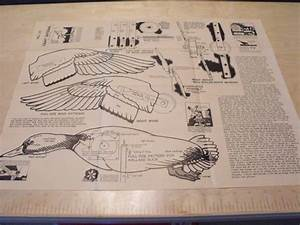 A Flying Mallard Duck Windmill Vintage Woodworking Plan