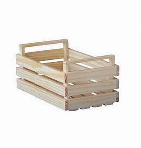 Cagette En Bois : mini cagette en bois 7 5cm 1001 d co table ~ Teatrodelosmanantiales.com Idées de Décoration