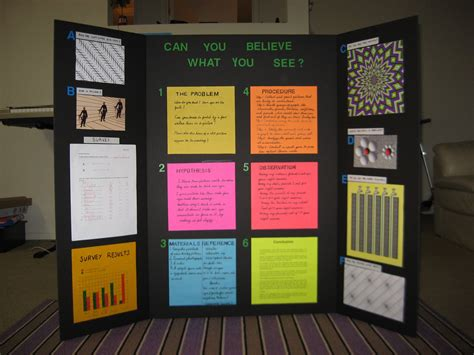 Science Project On Optical Illusion School Projects And