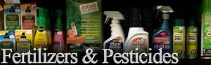 Fertilizers & Pesticides - The Glasshouse