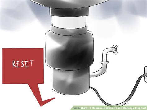how to remove garbage disposal from sink how to remove a glass from a garbage disposal 6 steps
