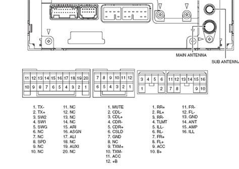 toyota 53818 86120 12a30 q js7671a units pinout diagram pinoutguide