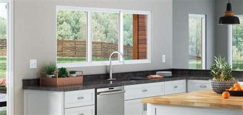 trinsic series double horizontal slider window milgard home depot