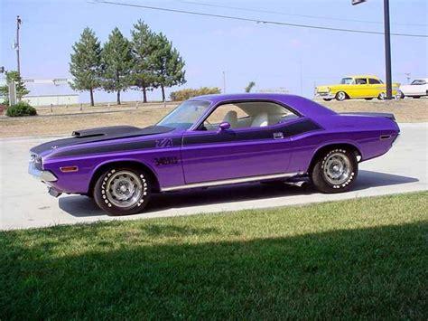 Plum Purple Challenger by Plum 70 Challenger Appreciated By Motorheads