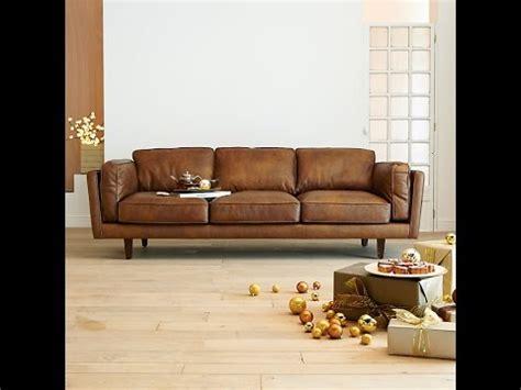 choisir un canap 233 cuir design pour le salon