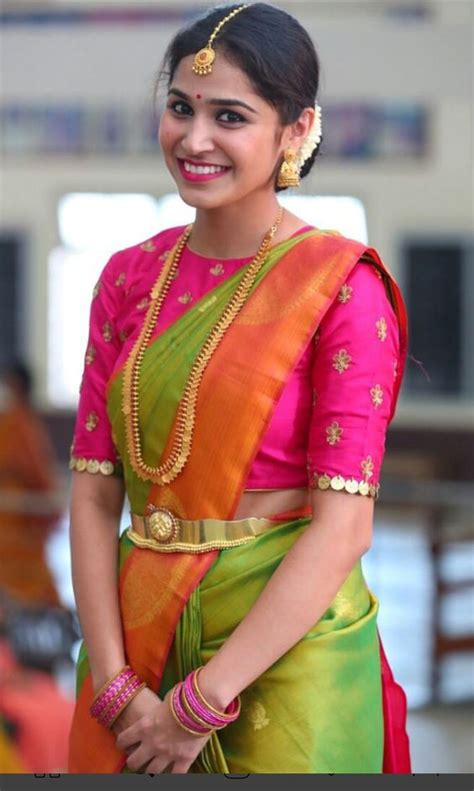 16 amazing blouse work designs for pattu sarees keep me stylish