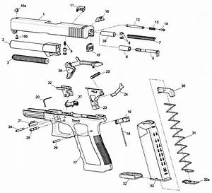 Glock 19 Gen 5 Parts Diagram