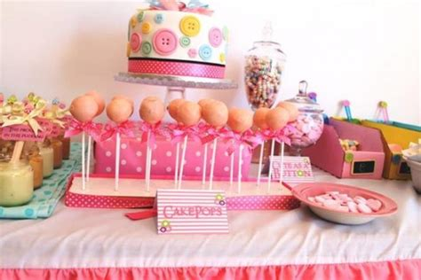 Kara's Party Ideas Cute As A Button Birthday Party
