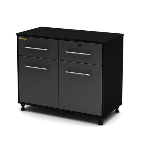 south shore storage cabinet black south shore karbon base storage cabinet in black and