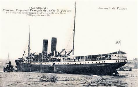 Compagnie Nouvelle De Navigation Adhemar Chaouia De La Compagnie De Navigation Paquet