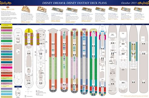 Deck Plans - Disney Dream U0026 Disney Fantasy U2022 The Disney Cruise Line Blog
