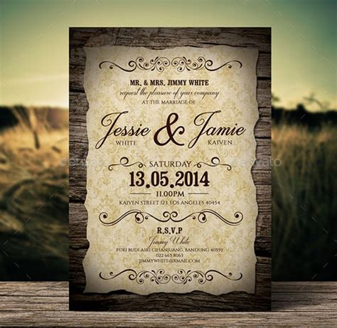 marriage wedding invitation templates