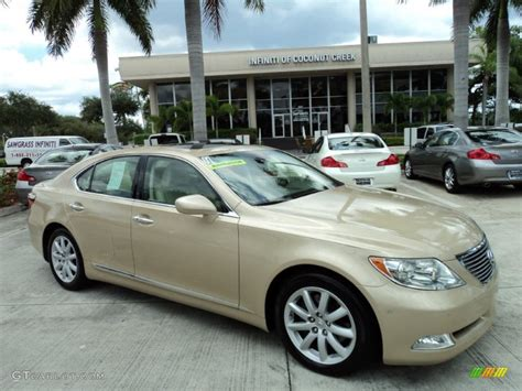 metallic lexus 2007 golden almond metallic lexus ls 460 51988818