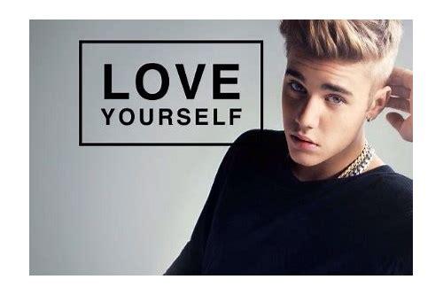 baixar lagu estrangeiro justin bieber love yourself
