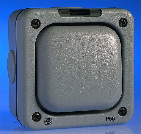 gang   dp weatherproof switch ip