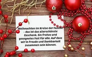 Weihnachtsgrüße Text An Chef : weihnachtsw nsche familie kurz ~ Haus.voiturepedia.club Haus und Dekorationen