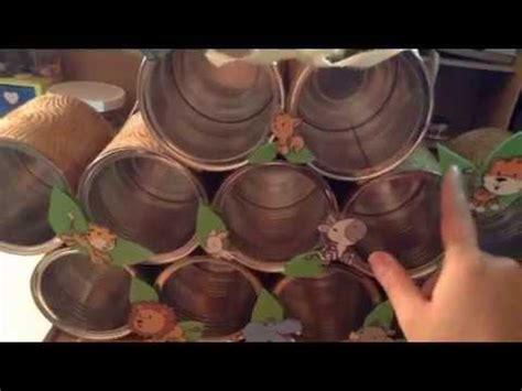 manualidades con tarros de leche fantasias miguel proyectos dulcero payaso con base multiusos reciclado de latas de leche youtube