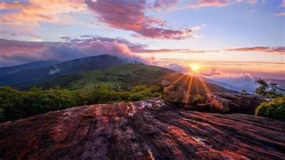 Mountain Sunset Landscape 4k Wallpapertag