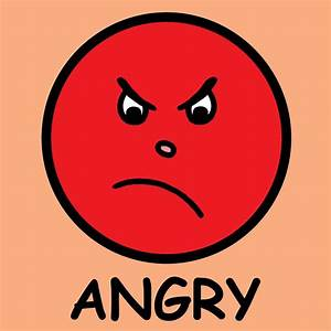 Angry Face Emoticon - ClipArt Best