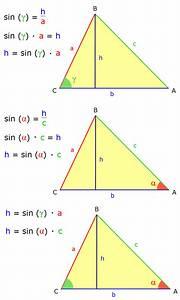 Gleichschenkliges Dreieck Berechnen Online : rechner sinussatz matheretter ~ Themetempest.com Abrechnung