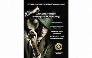 Dwi Laws And Tabc Source Investigations Pocket Notebook