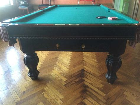 buy used bumper pool table brunswick pool tables for sale used gold crown pool