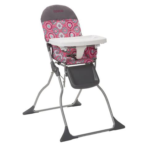 Cosco High Chair Seat Pad by Cosco Simple Fold High Chair Posey Pop Hc225dcc