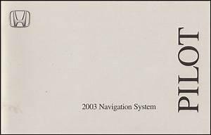 2003 Honda Pilot Electrical Troubleshooting Manual Original