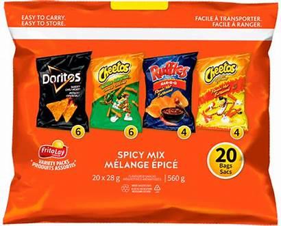 Lay Frito Variety Spicy Mix Packs Doritos
