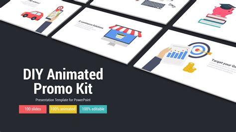 diy animated promo kit  powerpoint