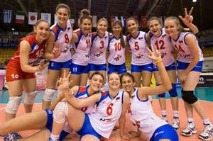 Serbia Women Volleyball Team