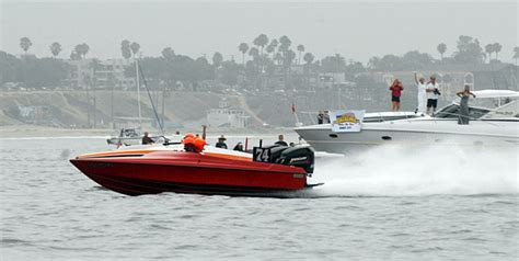 Catalina Race Boats by Haig Ties Catalina Ski Race Record With 11th Victory
